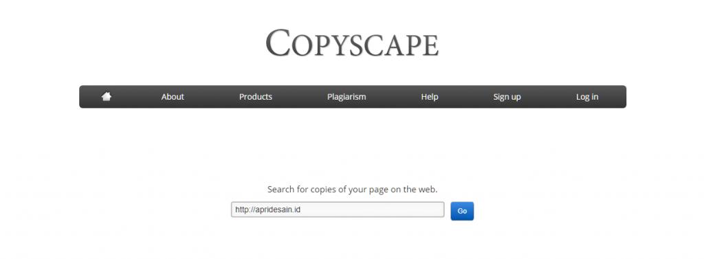 cara menggunakan copyscape