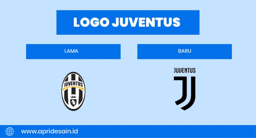 Logo Juventus Lama vs Baru
