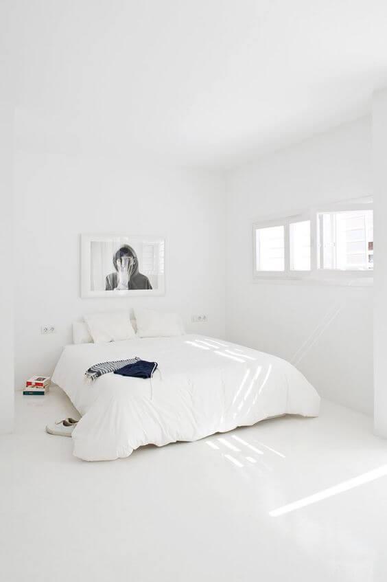 Kamar Tidur Minimalis Putih 1