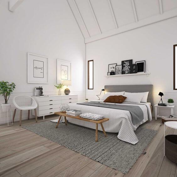 Kamar Tidur Minimalis Skandinavia 1