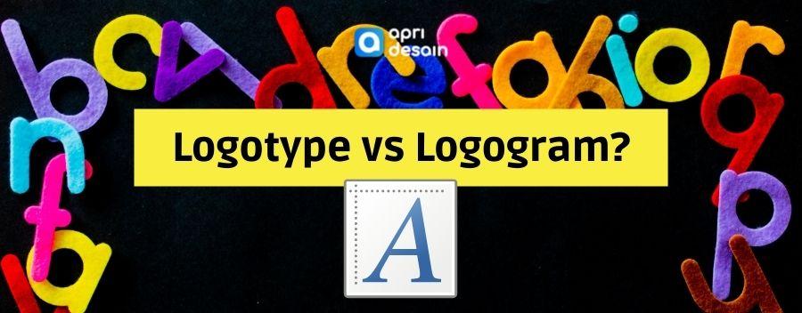 perbedaan logotype dan logogram