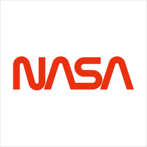 monogram lettermark logo nasa