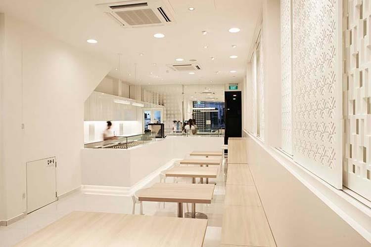 desain cafe minimalis japanese
