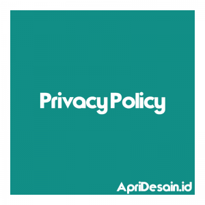 Privacy Policy ApriDesain