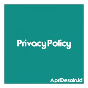 Privacy Policy ApriDesain