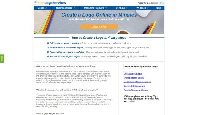 Situs desain logo gratis