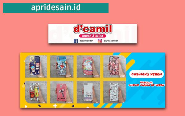 Jasa desain banner online murah