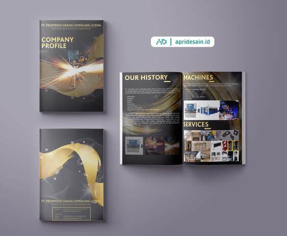 desain katalog pt pabrik
