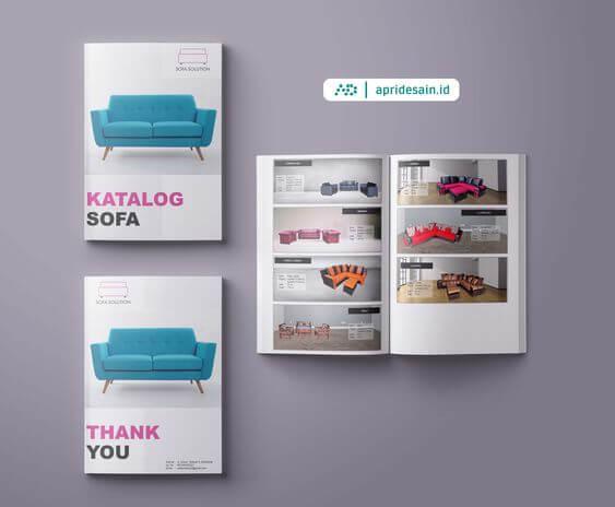 Paket Harga Desain Katalog Produk | ApriDesain