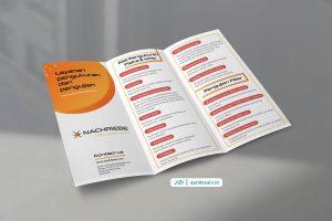 jasa desain leaflet flyer