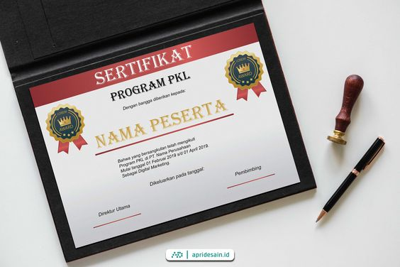 jasa desain sertifikat murah 1