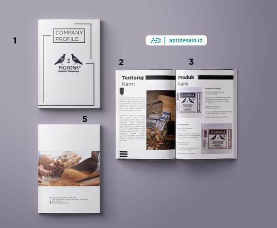 desain company profile tangerang