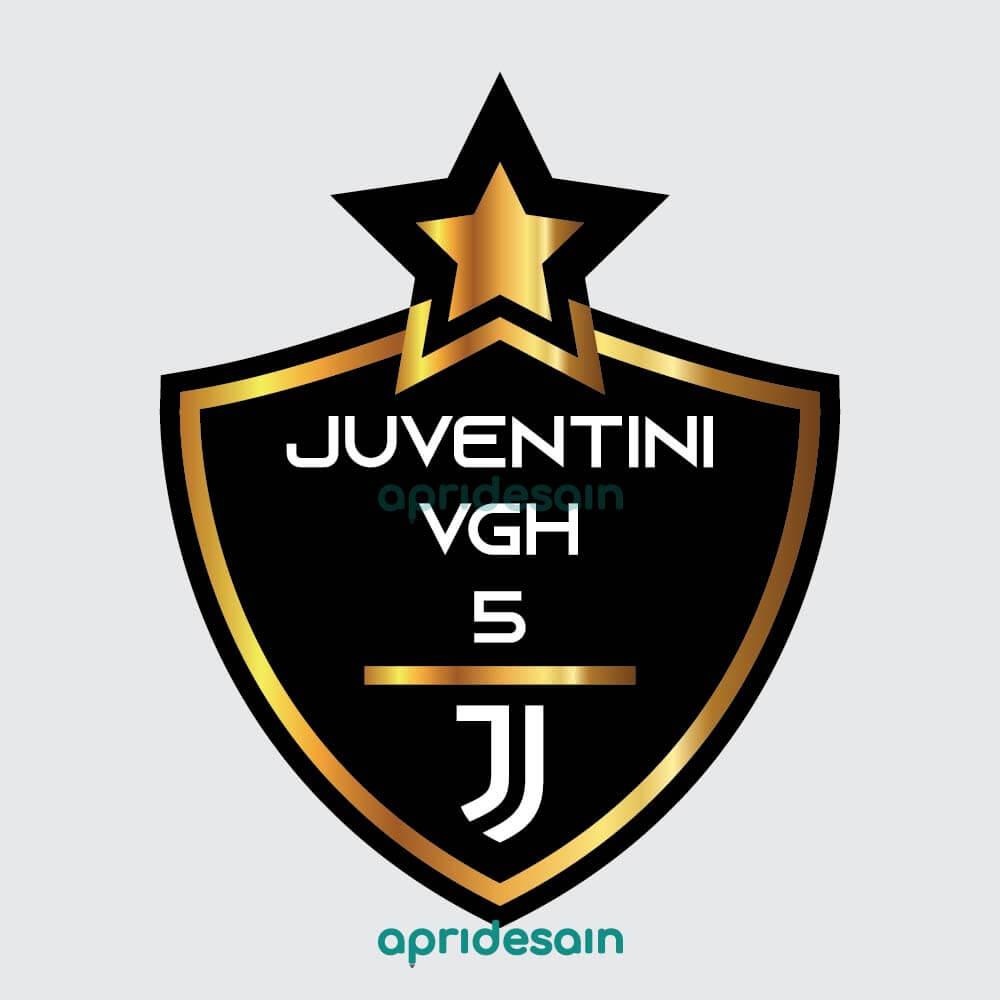 desain logo sepakbola juventini