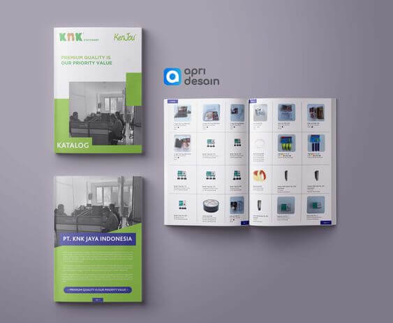 desain katalog PT KNK Jaya Indonesia