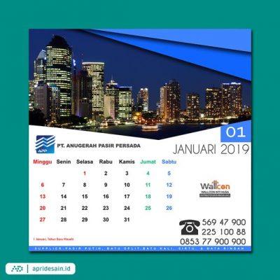jasa desain kalender perusahaan
