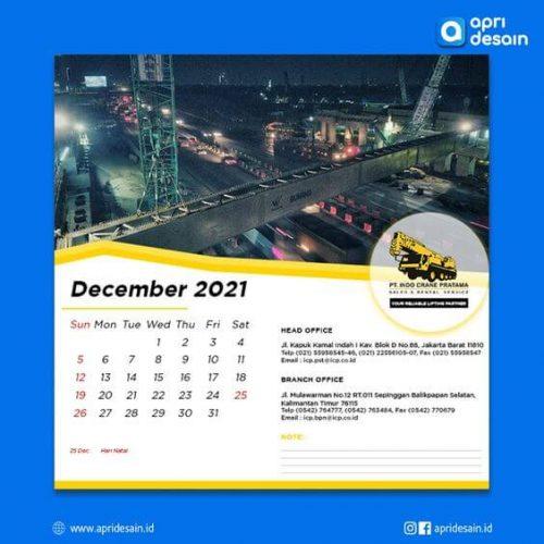 desain kalender 2022 murah