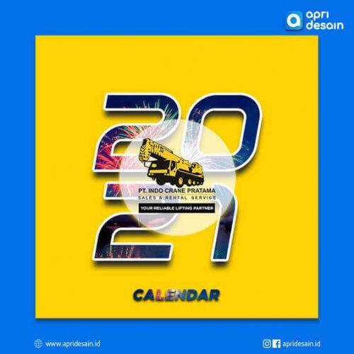 desain kalender 2022