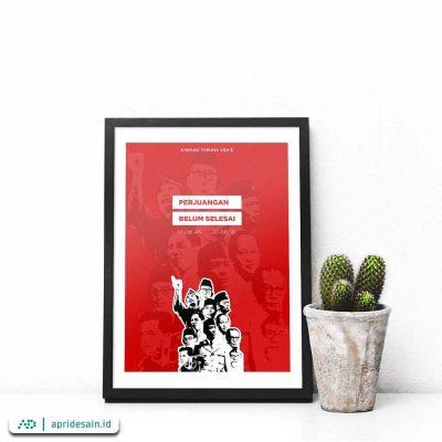 desain poster hari merdeka