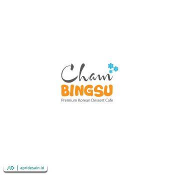desain logo cham bingsu